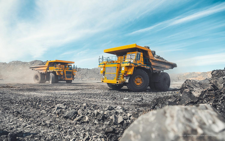 Mining truck - Russia, Novosibirsk